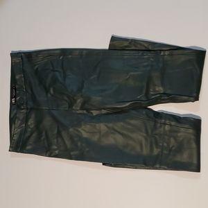 Zara Green Skinny Pants Small